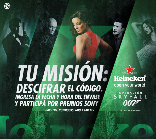 "Promo Heineken ""James Bond"""