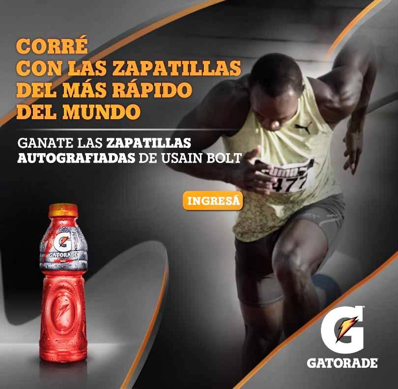 """Promo """"Gatorade Usain Bolt"""""""