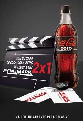 Promoción Coca-Cola Zero y Cinemark