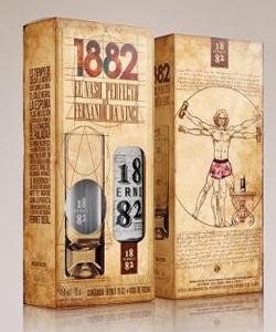 Fernet 1882 diseñó el vaso perfecto inspirándose en Da Vinci