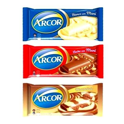 Arcor presenta su nueva linea de chocolates