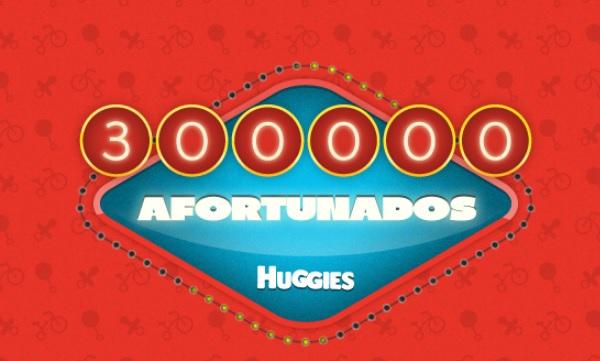 300000 afortunados