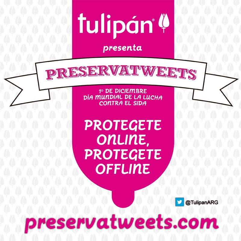"""Tulipán creó los """"Preservatweets"""""""
