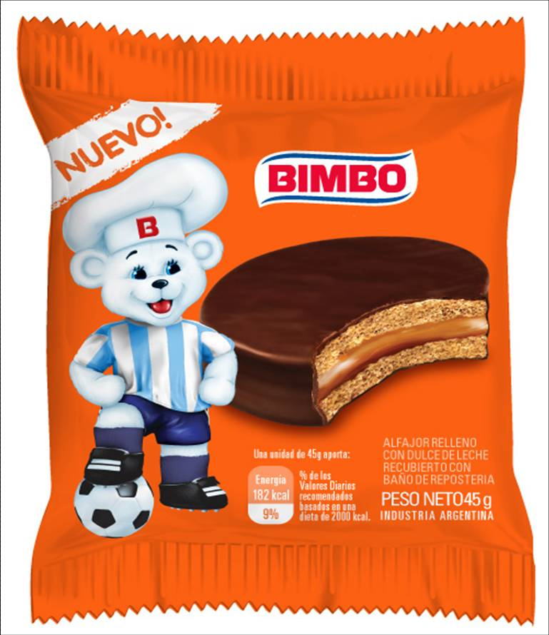 ALFAJOR BIMBO