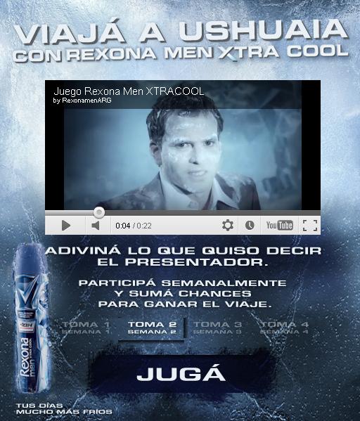 """Promoción """"Rexona Xtracool"""""""