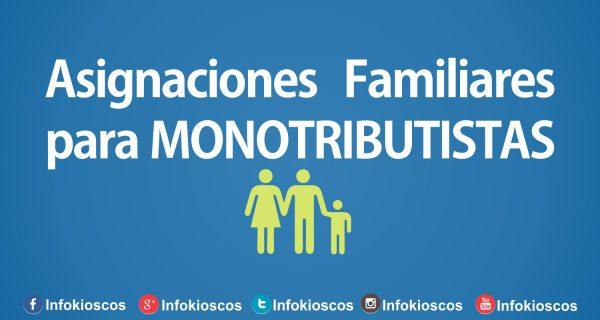 ASIGNACIONES FAMILIARES MONOTRIBUTISTAS