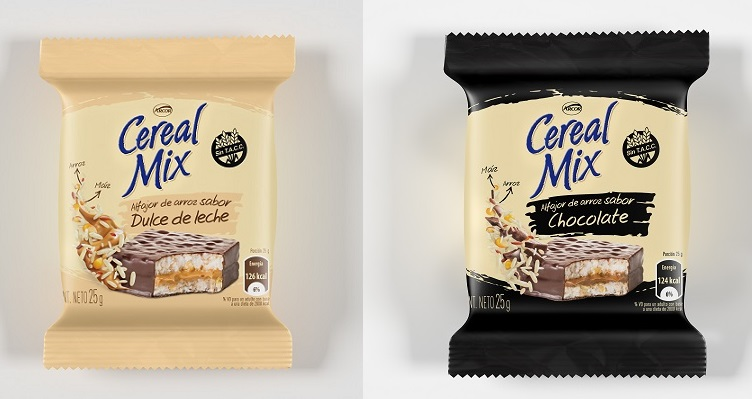 Alfajor de Arroz Cereal Mix - Dulce de Leche