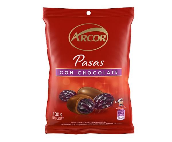 Arcor - Pasas de Uva con Chocolate