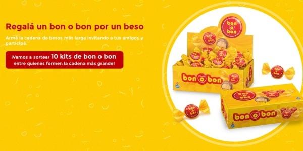 Promo Besos conectados Bon o Bon