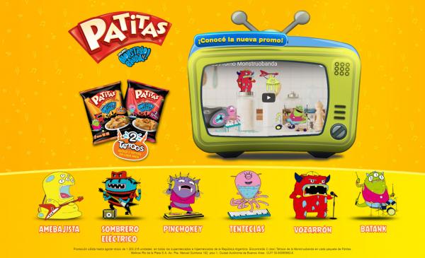 PATITAS - Promo Monstruo Banda