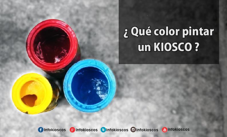 Qu color pintar un kiosco for Colores para frentes